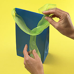 Packaging paper bag
